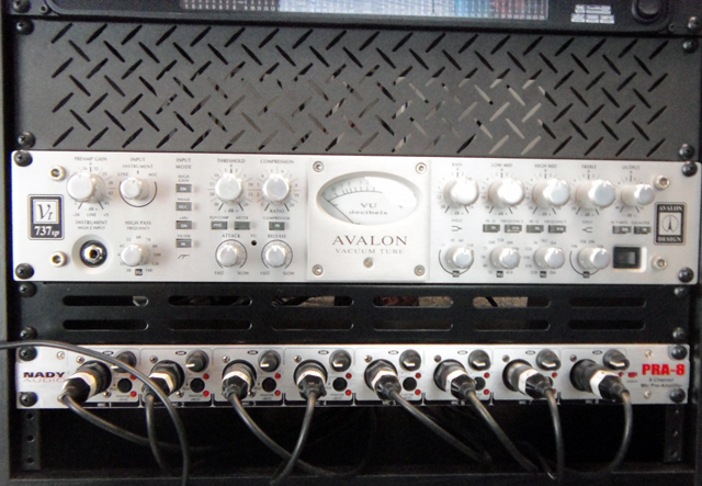 Our beeeeauutiful Avalon Pre-Amp